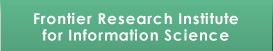Frontier Research Institutefor Information Science