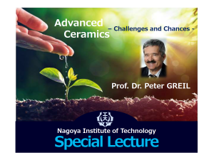 Dr.Greil special lecture